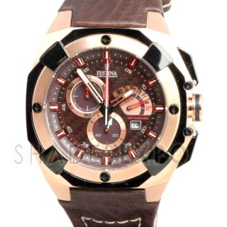 New Festina Watches F16357 2 Brown Grand Tour
