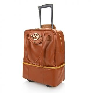genuine leather wheeled carryall rating 13 $ 239 95 or 4 flexpays of