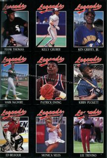 Seattle Mariners Ken Griffey Jr Legends Sports Magazine July 1992 HOF