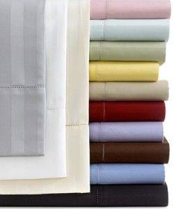 Charter Club Damask Stripe Extra Long Twin Sheet Set 500 Thread Count