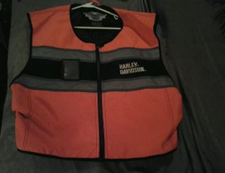 Harley Davidson Reflective Riding Vest