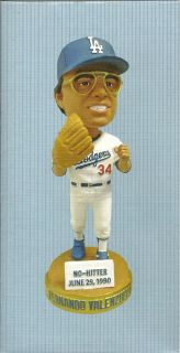 Fernando Valenzuela Dodgers Bobble Head 2012 Dodger Stadium Giveaway
