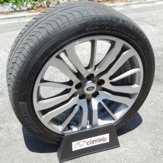 Factory Genuine Land Rover Range Wheels Rims Michelin Diamaris Tires