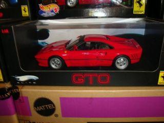 Ferrari 288 GTO Red Hot Wheels Elite Very RARE Last Ones Discontinued