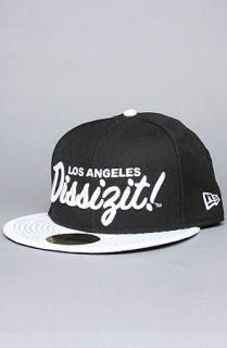 Dissizit The LA Dissizit New Era Cap in Black White