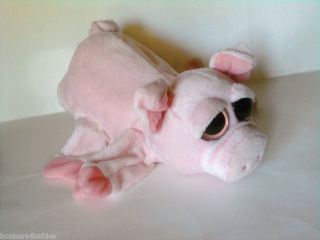 Caltoy Big Sad Eyes Piggy Plush Hand Puppet Plush