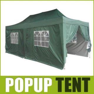 Peaktop 10x20 EZ Pop Up Canopy Gazebo Party Tent GR Ct