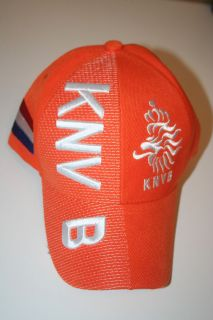 Netherlands knvb FIFA World Cup Orange Hat Cap Holland Euro Soccer