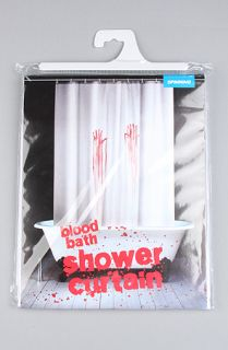 Spinning Hat The Blood Bath Shower Curtain