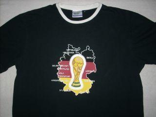 FIFA World Cup Germany 2006 Soccer T Shirt XL 2XL Futboll