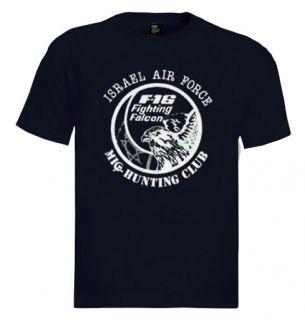 16 Fighting Falcon T Shirt Aircraft Air Force Israel