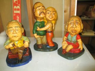 All in The Family 1973 Continental Esco Archie Bunker TV Statue Figure