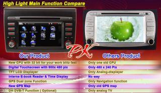 Fiat Bravo Brava GPS Navigation Radio Card DVD Player Auto Navi Map