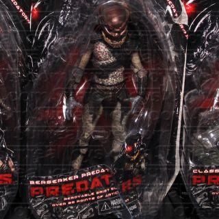 Alien Action Figure Set of 3 Classic Falconer Berserker NECA