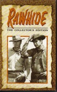 RAWHIDE, TV Western, VHS, Clint Eastwood, Eric Fleming