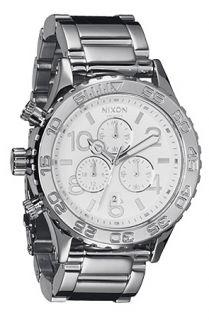 Nixon The 4220 Chrono Watch in High Polish