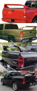 Thunder Tail Rear Truck Spoiler Bed Rail Bed Cover Wing