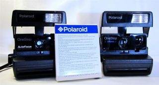 Working Polaroid 600 OneStep Instant Film Land Cameras 600 Film