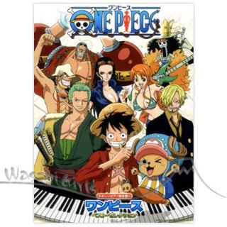 One Piece Best Selection Piano and Vocal Sheet Music Score Book