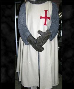 Medieval Knight Crusader Templar Tunic Surcoat New