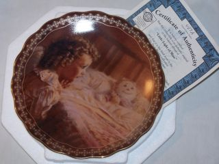 Light of Mine   Gifts from Heaven   Fincher Prayer Girl Doll Bed Plate