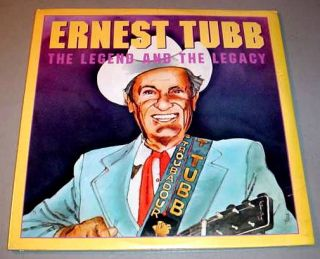 Ernest Tubb SEALED 2 LP Set Legend and Legacy 1979