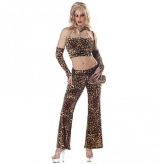 New Women Sexy Fine Foxy Mama Pimp Lady Adult Costume