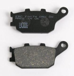 04 2004 Suzuki SV650S EBC Rear Brake Pads