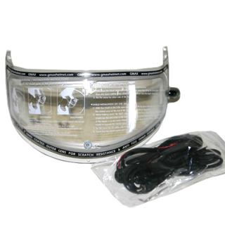 GMAX GM68S Snowmobile Helmet Electric Face Shield