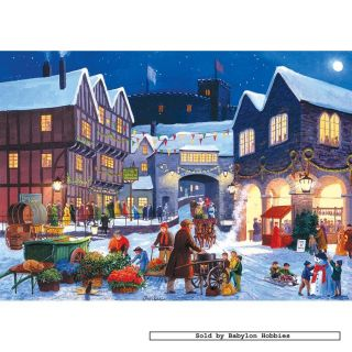 Gibsons jigsaw puzzle 500 pcs John Finlay   Christmas Eve (2x) G5014