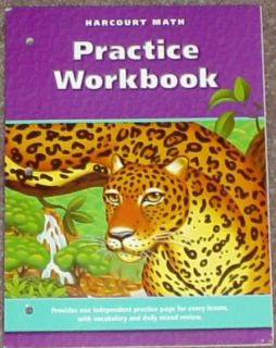 Harcourt Math 6TH GRADE 6 MATHEMATICS PRACTICE WORKBOOK HOMESCHOOL