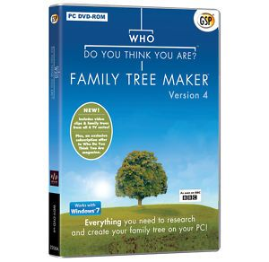 Family Tree Maker 2010 Full UK Version New SEALED