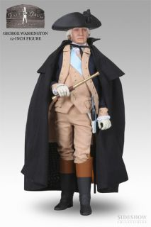 SIDESHOW GENERAL GEORGE WASHINGTON RARE 12 inch NEW MNT BOX LIMITED TO