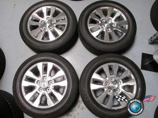 Sequoia Tundra Factory 20 Wheels Tires Rims 69533 275 55 20