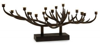 Antler Branch Centerpiece Candleholder Fireplace Insert