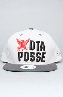 DTA   Rogue Status The DTA Bird Snapback Cap in Grey Red Black