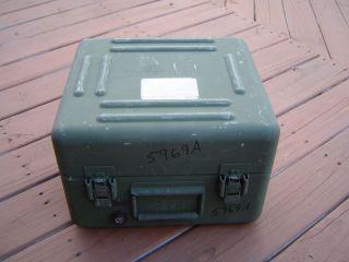 ALUMINUM STORAGE BOX FARADAY CAGE GEOCACHING SURVIVAL CACHE