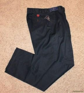 NWT $69.50 Polo Ralph Lauren Golf Cotton Chino Logo Blue Pants 32 X 30