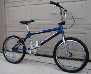 SCHWINN BLUE FALCON BMX BIKE COMPLETE Profile Araya Powerlite DX