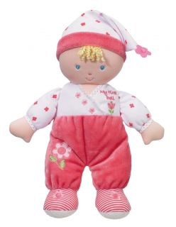 Babies My First Doll /Soft Toy /Baby Girl Dolly in Pink Pyjamas