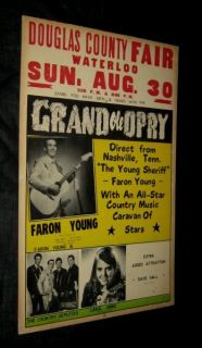 70 FARON YOUNG COUNTRY DEPUTIES GRAND OLE OPRY Douglas County Waterloo