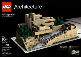 Architecture New in Box Falling Water Frank Lloyd Wright Toy