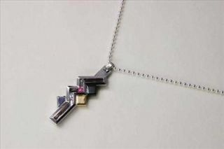 New Final Fantasy XIII   Silver Lightning Pendant Necklace Cubic