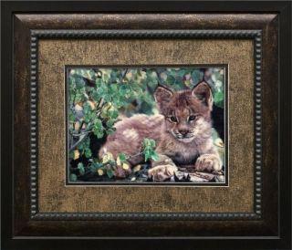 Hideaway Charles Frace Fincher Framed Print Wildlife