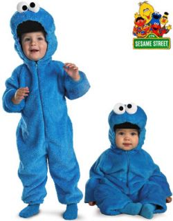 Sesame Street Cookie Monster Plush Costume Toddler 2T