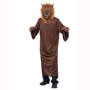 Werewolf Big Bad Wolf Halloween Costume with Mask One Size New