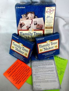 FAMILY TREE MAKER VERSION 7. 20 CD SET. ALL CONTENTS NEW AND STILL