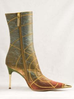 New Hamlet Couture Multicolor Boots Size 38 US 8