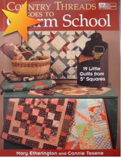 country threads goes to charm school by mary etherington connie tesene
