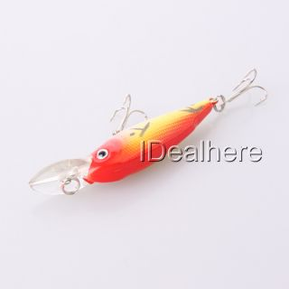 Fishing Lures Baits Floating Hook Tackle Shad Trout 1x